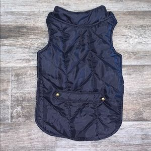 Other - Dog Puffer Vest Sz M